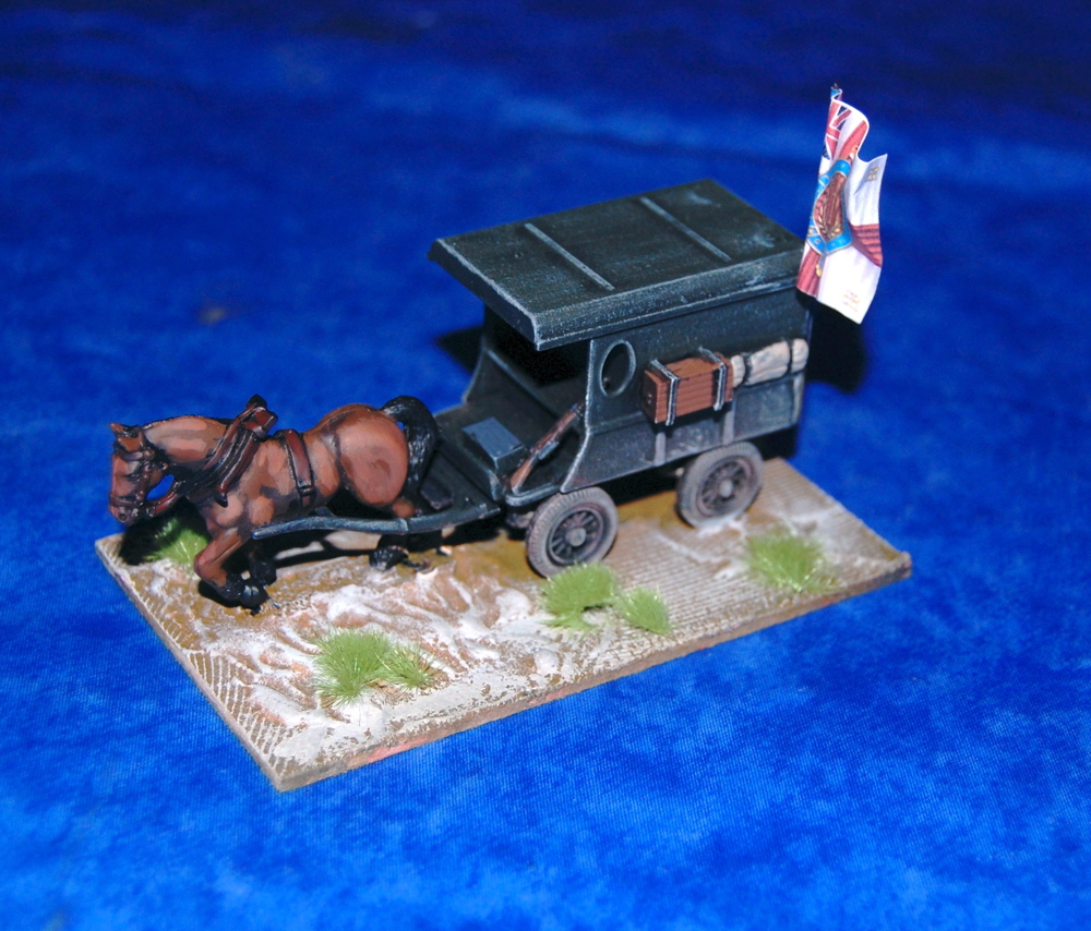 Royalist supply wagon